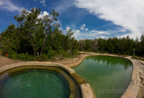 Горячие источники Salty Hot Springs