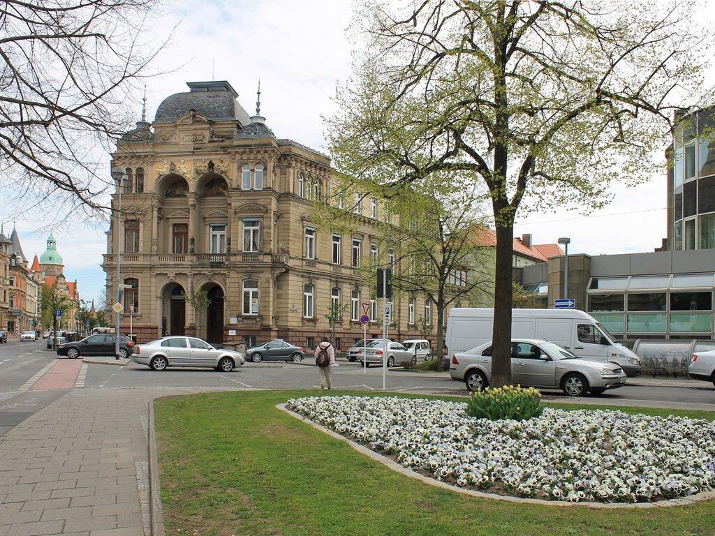 Bamberg. German town house (Bürgerhaus Deutsches)