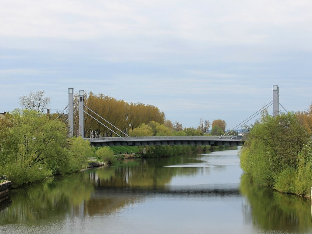 Bamberg. Löwenbrücke