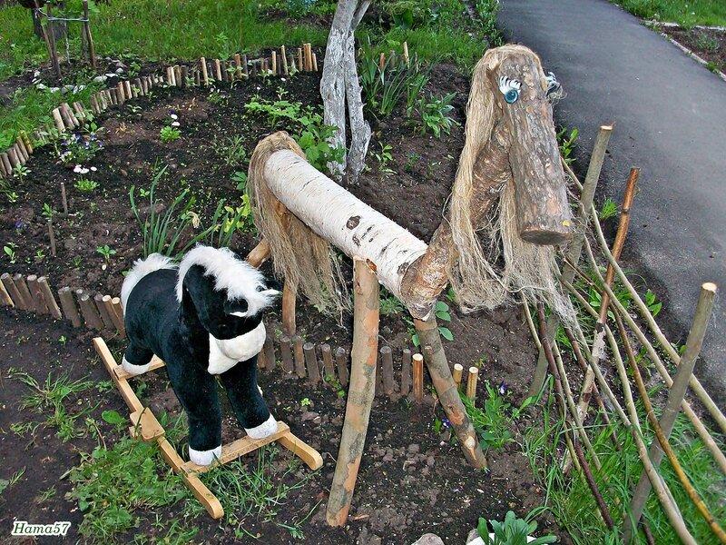 Ускакали деревянные лошадки...