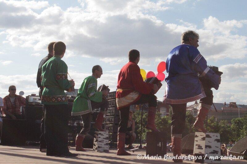 Саратовская гармоника, Саратов, фестиваль 'БЛАГОДАРЮ', 09 июня 2012 года