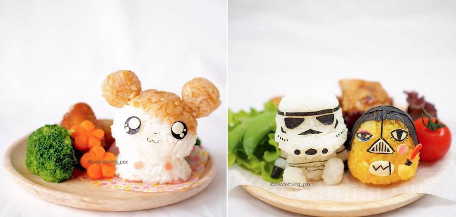 Rice Balls Turned into Pop Culture Characters (10 pics)
