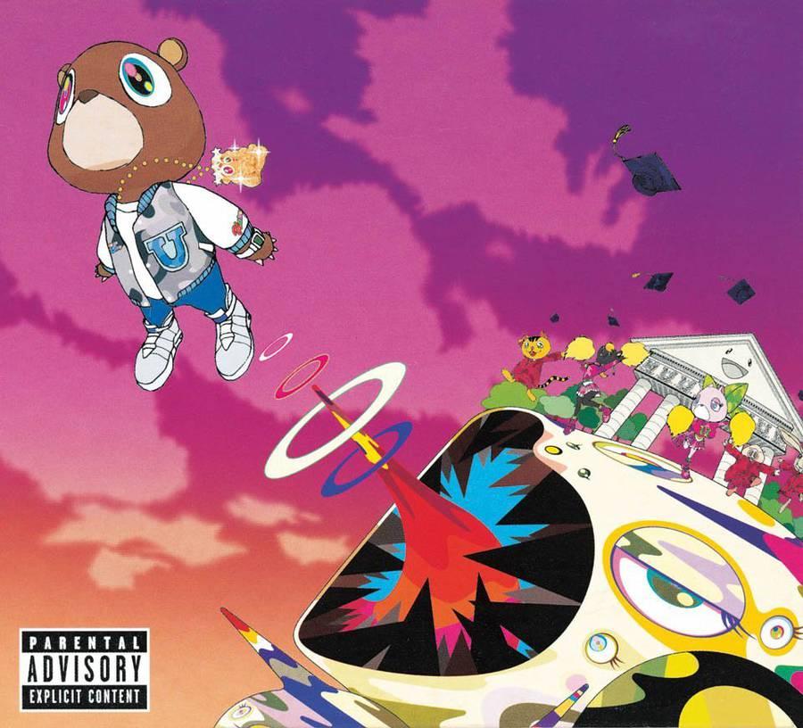 Takashi Murakami for Kanye West.