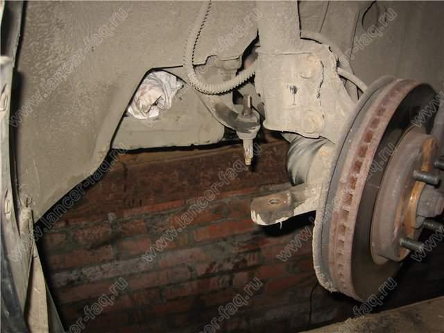 Замена рулевых тяг и рычагов передней подвески