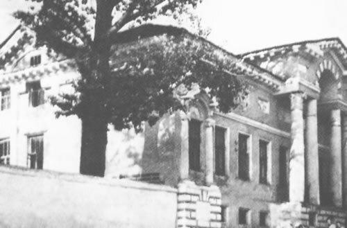 Дом Селиванова в конце 1940-х. Фото из коллекции А.Лимарова