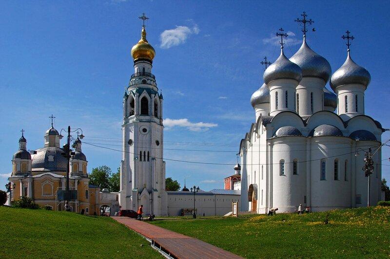 Вологодский кремль. Софийский собор