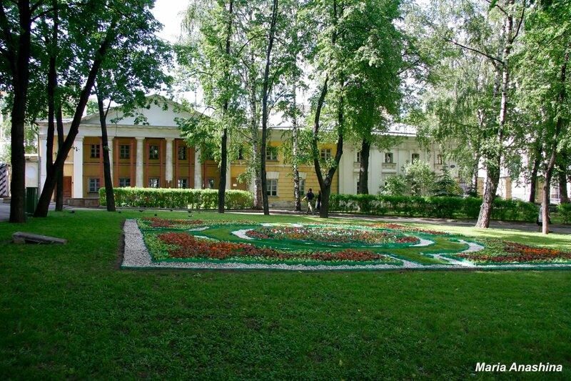 Флигели усадьбы Голицыных в Москве