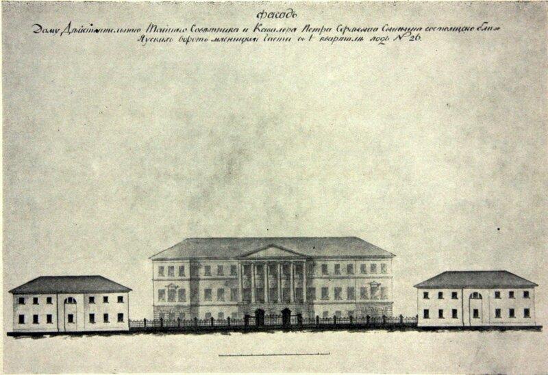Усадьба П. С. Свиньина. Альбом М. Ф. Казакова. XVIII век.
