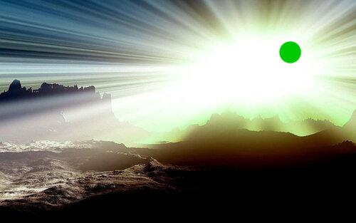 Солнце после обработки удобрениями