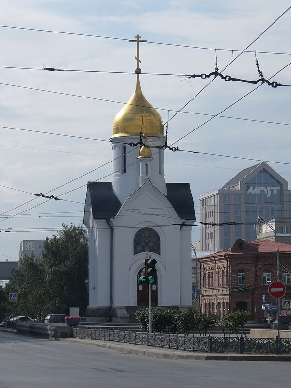 Новосибирск - Часовня во имя Святого Николая Чудотворца