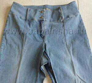 Перешиваем юбку из джинсов своими руками