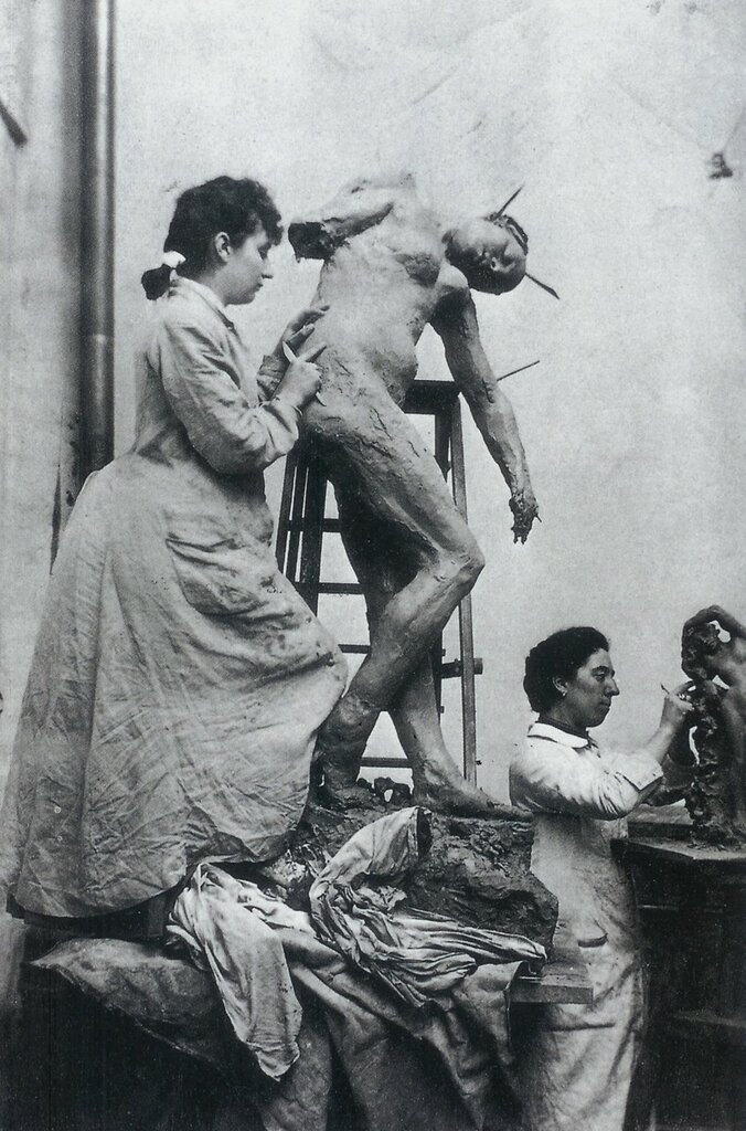 Camille Claudel and Jessy Lipscomb 1896
