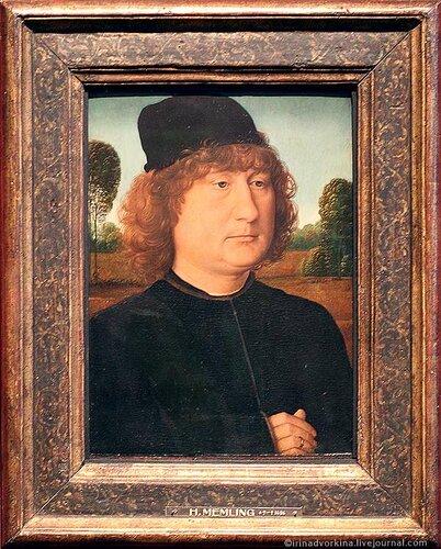 Мемлинг. Мужской портрет