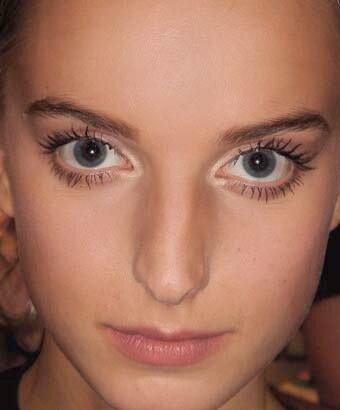 Макияж как сделать глаза больше