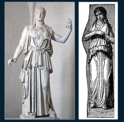 Пеплум в Древней Греции