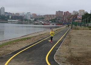 Во Владивостоке открыт первый участок «Берега здоровья»