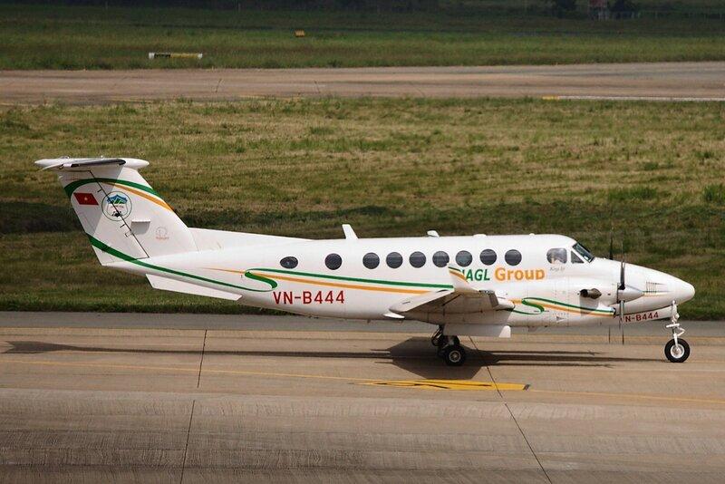 Первый частный самолёт во Вьетнаме