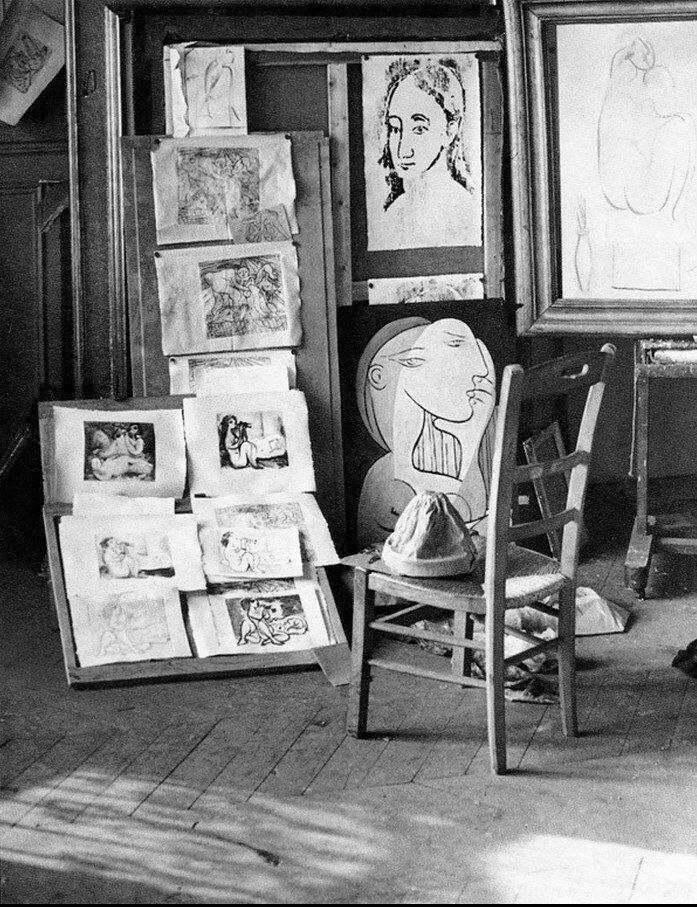 1932. Мастерская Пикассо на улице Боэти