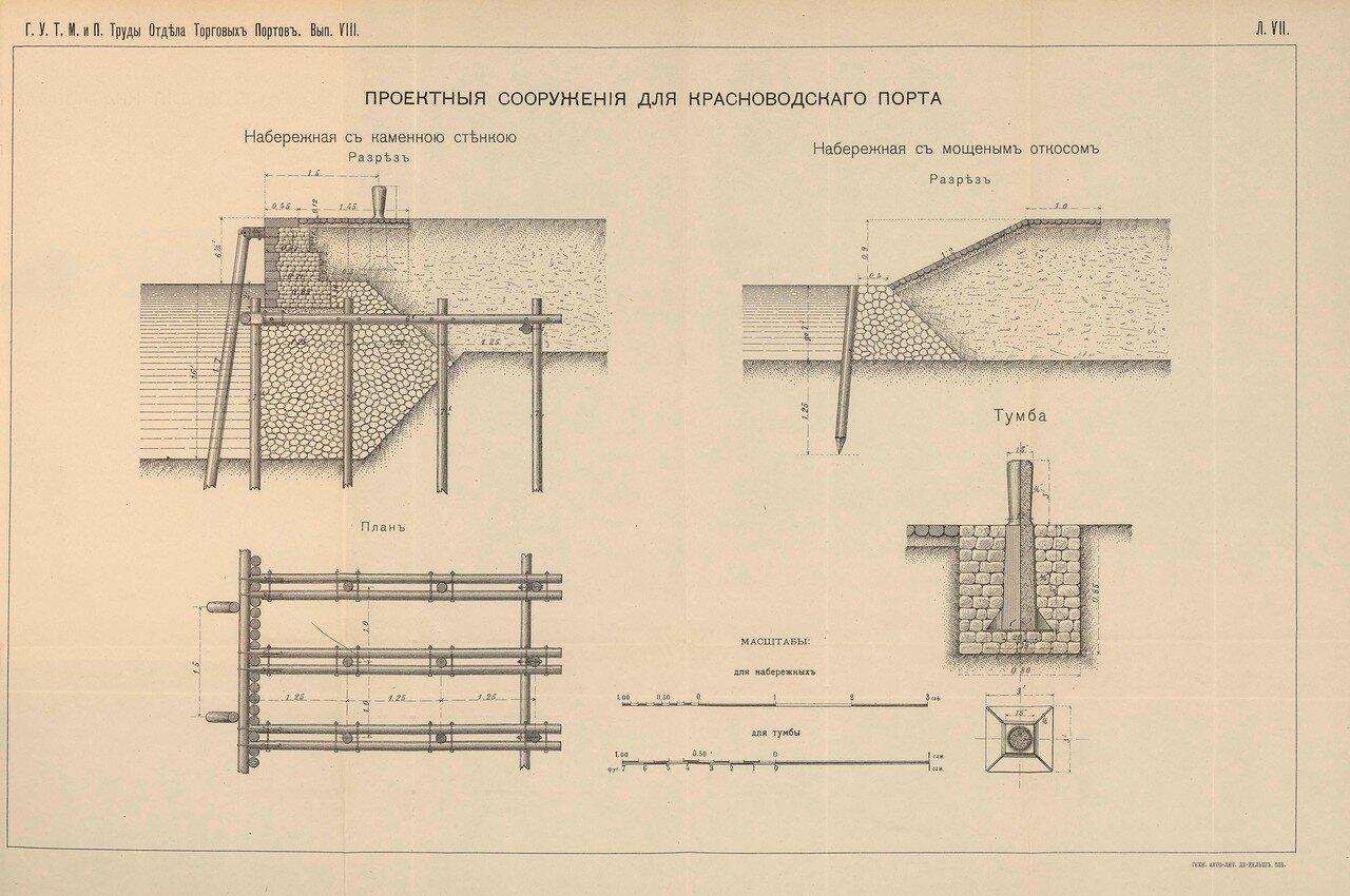 10. Проектные сооружения для Красноводского порта