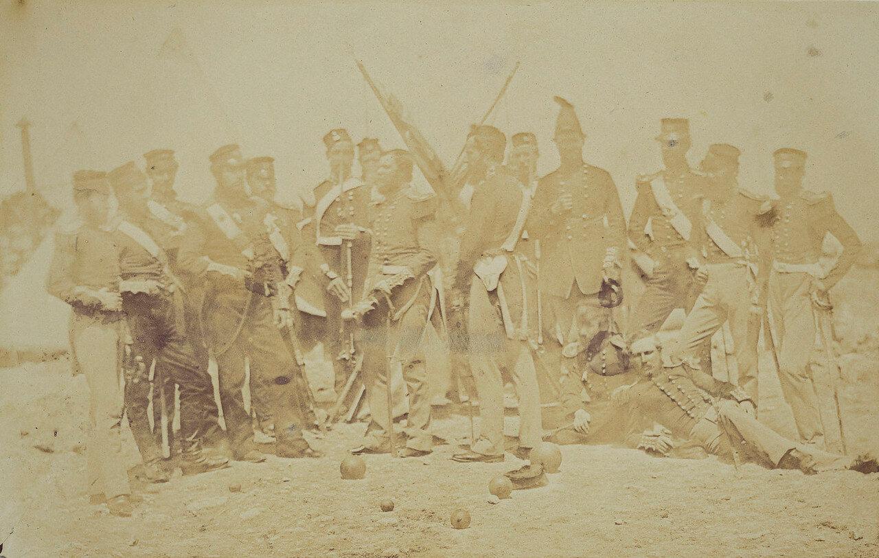 Офицеры 19 полка выжившие после Альмы и Инкермана