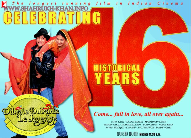 Shah Rukh & Kajol - DDLJ 16 years 2012