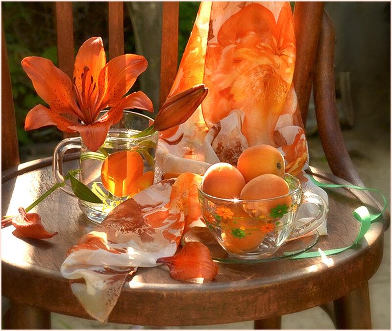 Оранжевое лето картинки