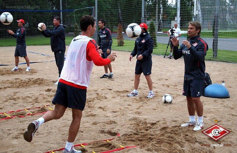 Тренировка «Спартака» на базе в Тарасовке (Фото)