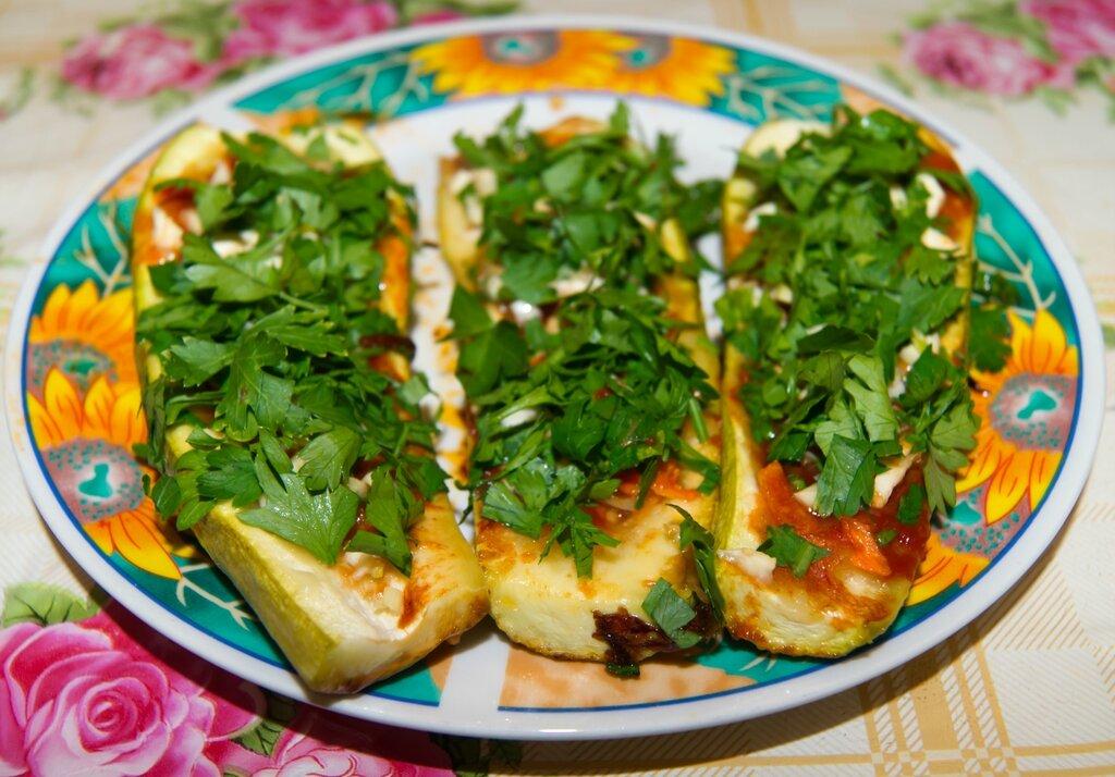 Фаршированные кабачки на сковороде рецепты с фото
