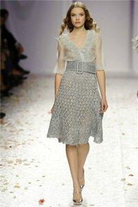 Стальной доспех современной моды. Юбка Луизы Беккария ss'09