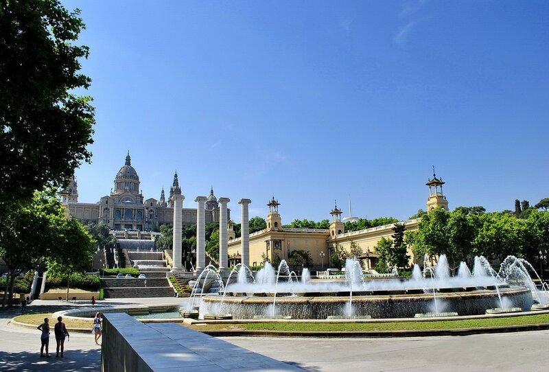 Дворец в Барселоне