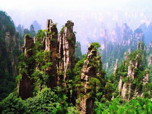 летающие скалы, аватар, чжанцзяцзе