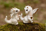 Мои фигурки драконов и прочее