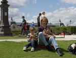 In Jardin de Tuileries
