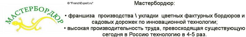 Франшиза Мастербордюр