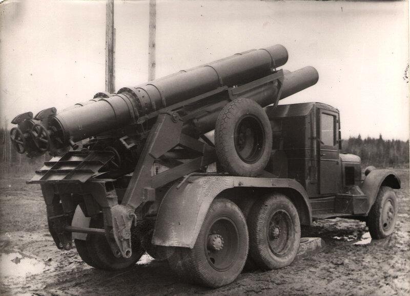 опытный образец установки КС-108, 1942 г