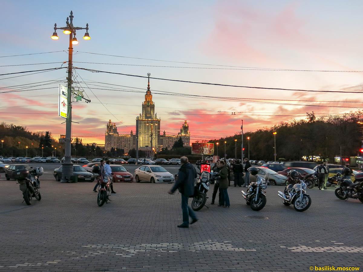 Смотровая площадка. Октябрь 2013.