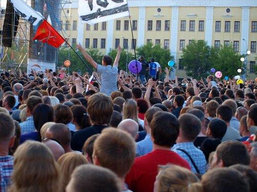 зрители на концерте ДДТ в Кирове