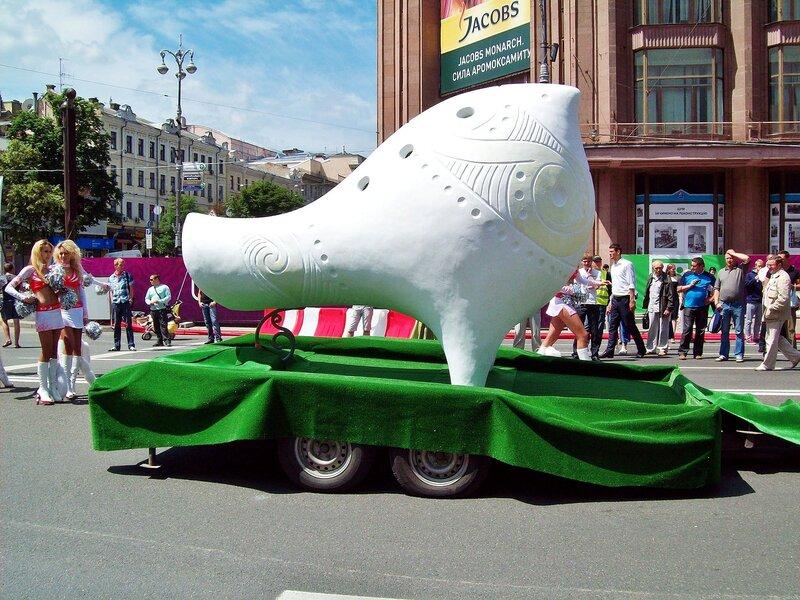 Неофициальный талисман Евро 2012 Зозулица