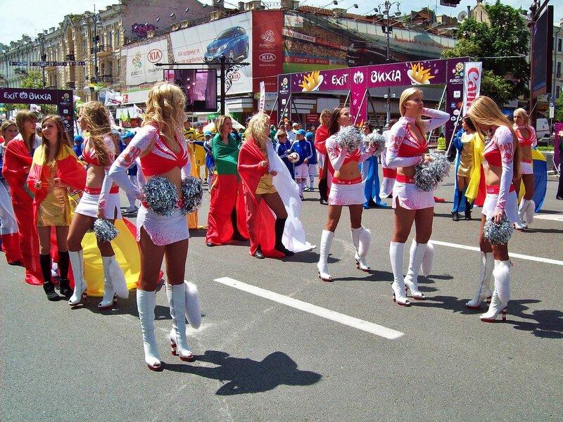 Открытие фан-зоны Евро 2012 в Киеве