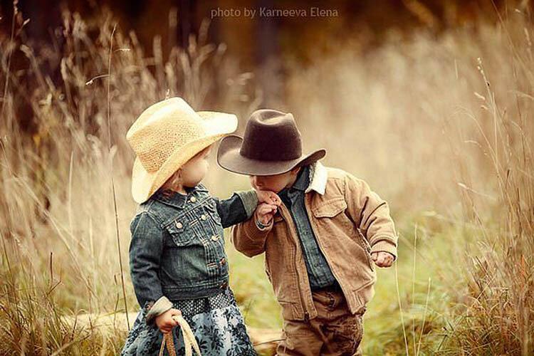 Солнечные фото детишек фотографа