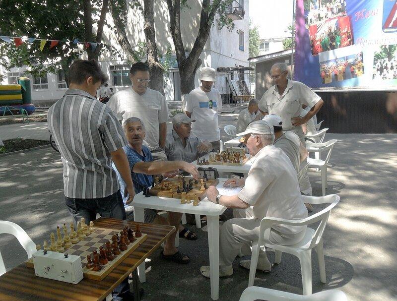 Шахматный турнир. 2012-06-23