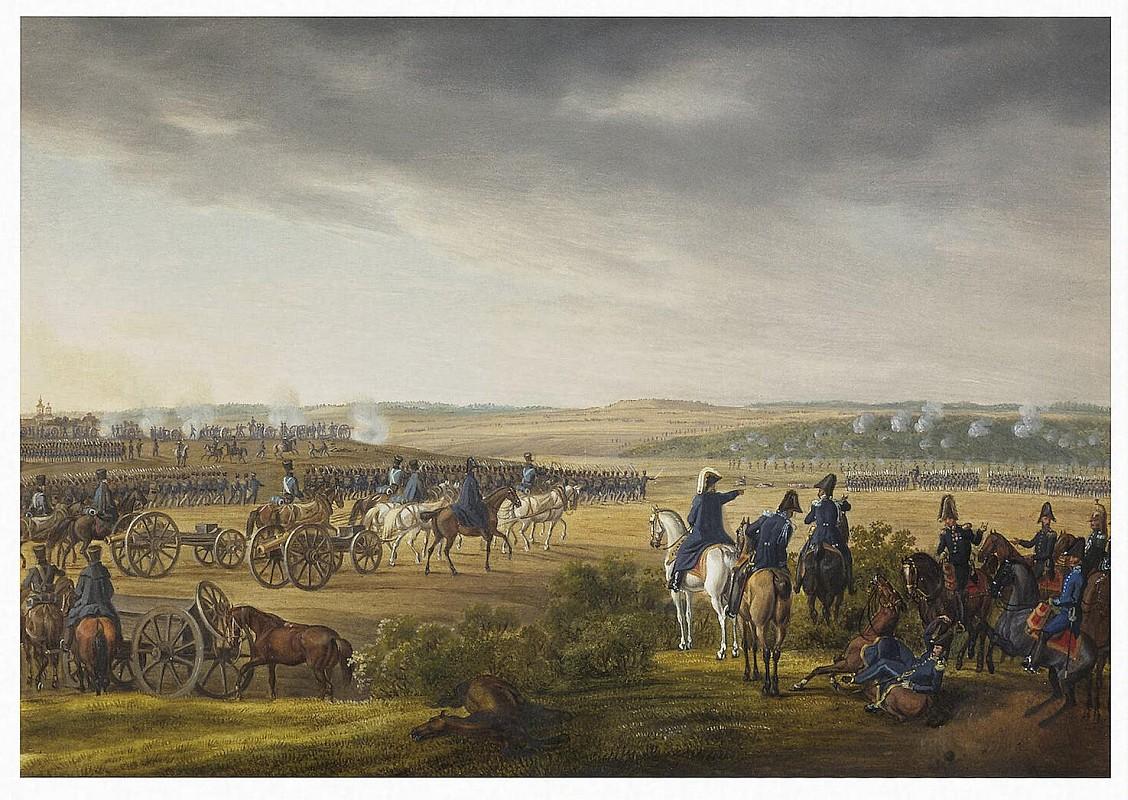 Альбрехт Адам, Битва за Москву 7 сентября 1812 г.