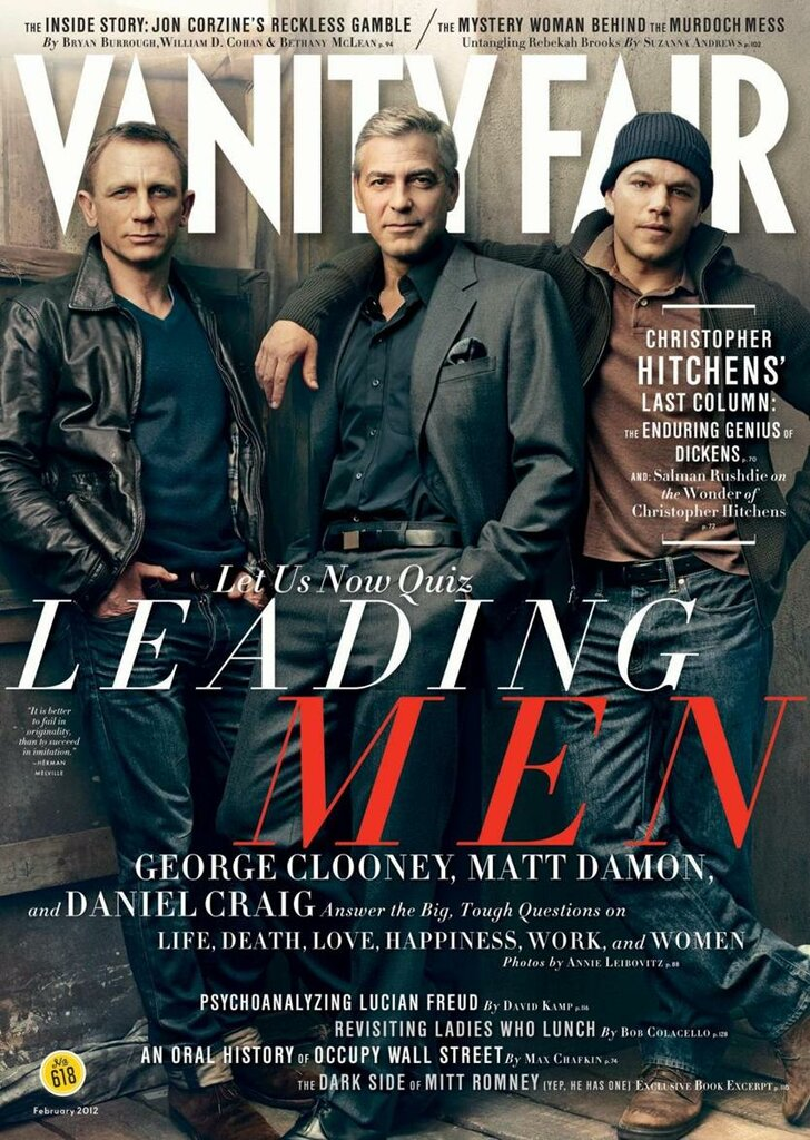 Leading Men Vanity Fair