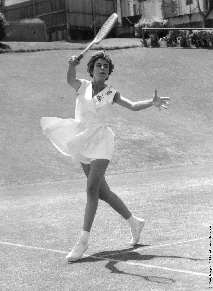 Чемпионка Уимблдона  Maria Bueno из Бразилии,1959