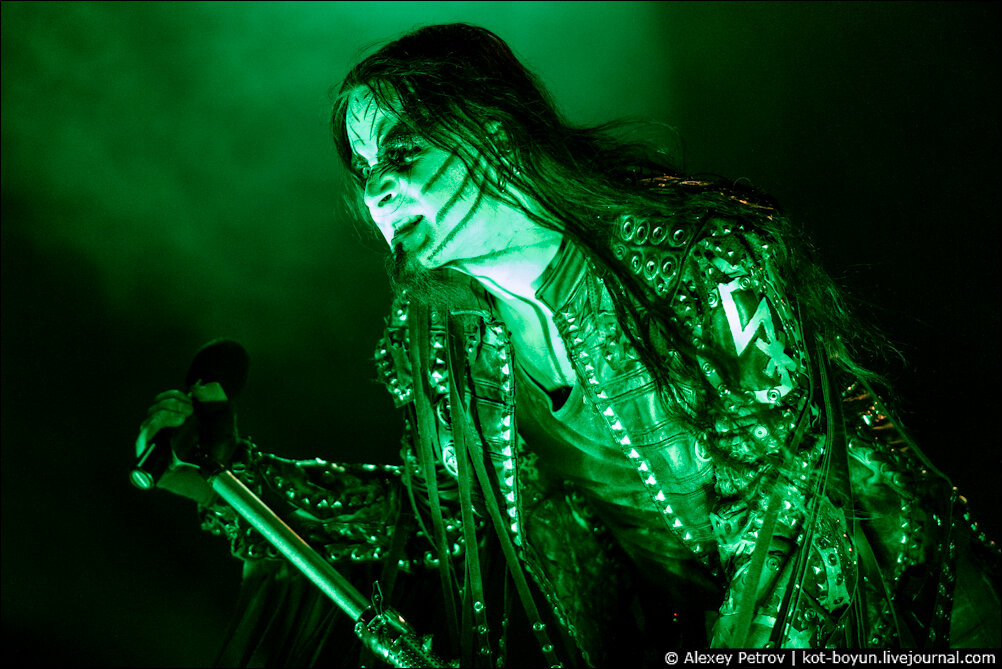 Dimmu Borgir Live in Saint-Petersburg (ЦКЗ Аврора) 03/06/2012