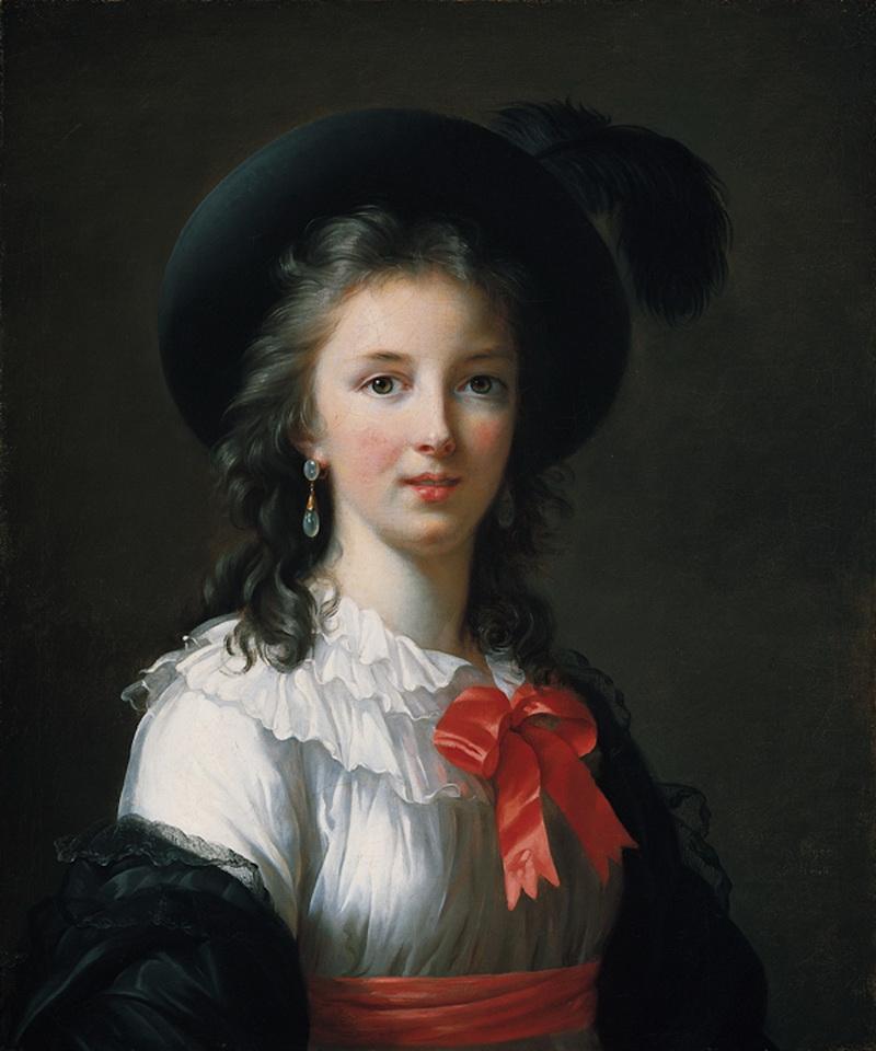 автопортрет 1781 год