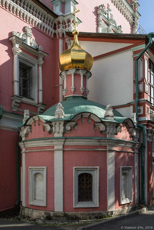 Алексиевский придел Храма Богоявления Господня Богоявленского монастыря