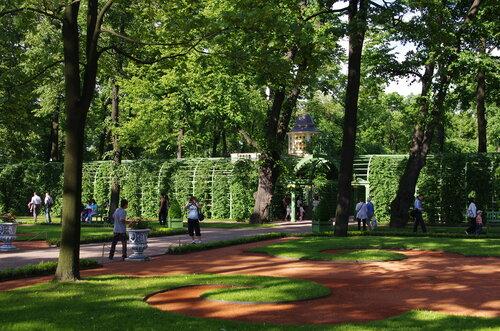 Набережная Фонтанки и Летний сад - июнь 2012