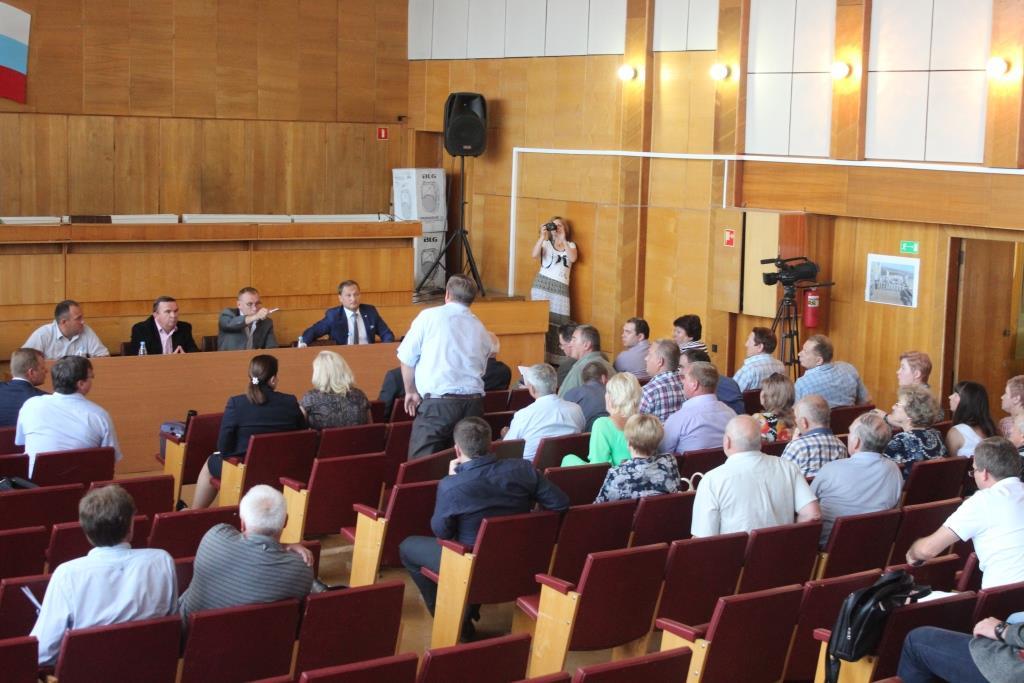 Общественные слушания проекта ООО Сибирский Лес в Лесосибирске
