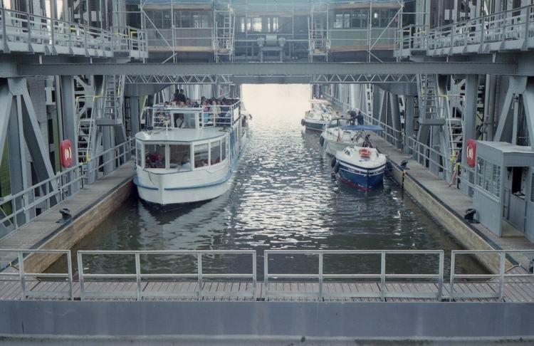 Как работает судоподъемник в Германии